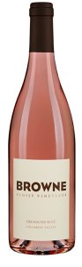 Browne Family Grenache rosé is sourced from Canyon Vineyard Ranch in Washington state's Columbia Valley.