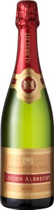 Lucien Albrecht Crémant d'Alsace Brut Sparkling Wine is produced in the Méthode Traditionnelle.