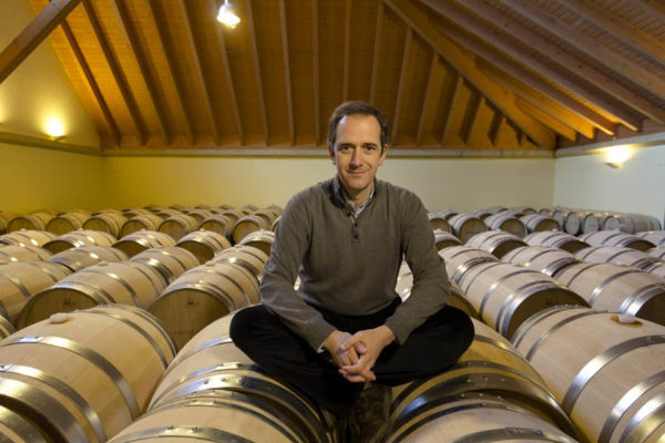 Manuel Louzada is the CEO and wine maker of Arinzano winery in Navarra, Spaion, part of the Stoli Group