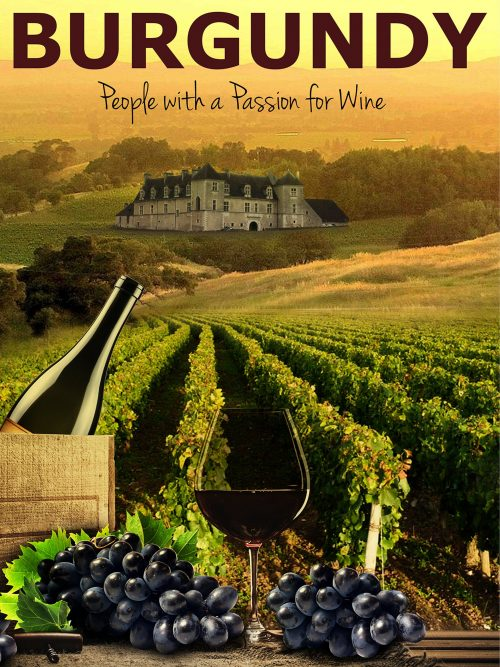 """""""Burgundy: People with a Passion for Wine,"""" by Rudi Goldman."""