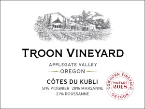 Troon Vineyard, Applegate Valley, OR.