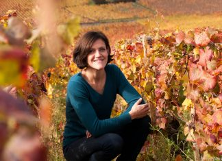 Ludivine Griveau, first female winemaker at Hospices de Beaune in Burgundy.