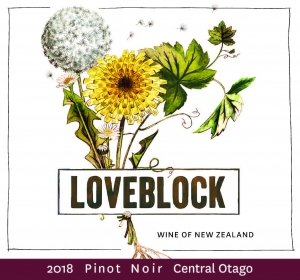 Loveblock Pinot Noir - Central Otago, NZ.