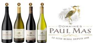 Domaines Paul Mas Reserve Pinot Noir - St. Hilaire Vineyard, Pays d'Oc, Languedoc FR.