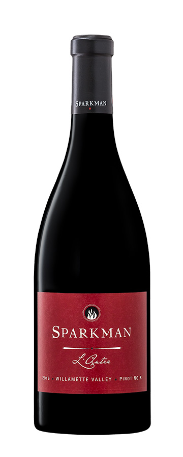 Sparkman L'Autre Pinot Noir from Temperance Hills, OR.