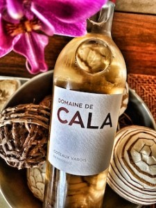Domaine de Cala rosé is produced in Coteaux Varois, Provence.