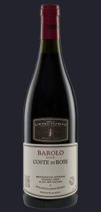 "Bric Cenciurio ""Coste di Rose' Barolo is made from 3 different nebbiollo varieties."