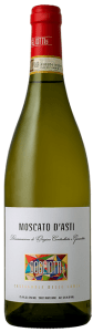 Dogliotti 1879 Moscato d'Asti is a light, frizzante white wine low in alcohol made in the Piedmont area of Italy.