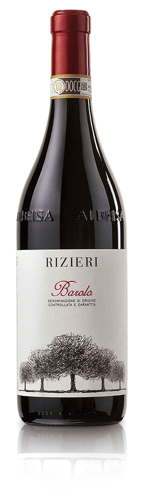 Rizieri Barolo DOCG is produced on clay and calcareous sols rich in magnesium oxide and manganese, which imparts elegance and complexity.