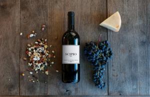 Tentua Sette Cielo Scipio Super Tuscan wine is made from 100% Cabernet Franc.