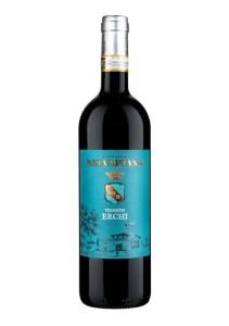 Selvapiana Vigneto Erchi Chianti Rufino DOCG is a vegan wine made from Sangiovese.