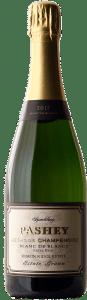 Pashey 2017 Pashey Ribbon Ridge Blanc de Blancs is sourced from 100% chardonnay farmed on Ribbon Ridge.