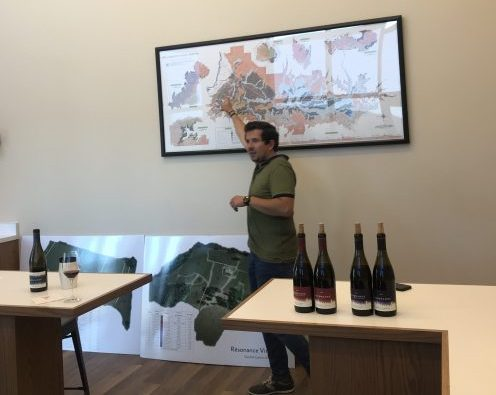 Résonance Wines winemaker Guillaume Large discusses the relationship between his winery and its parent company Maison Louis Jadot in Burgundy.
