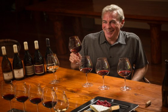 Tony Rynders is the winemaker for his own winery, Tendrils Wines, in Carlton, Oregon.