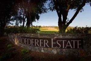 Champagne Louis Roederer owns Roederer Estate in the Anderson Valley, California..