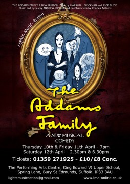 The Addams Family 2014 / LMA Production