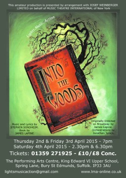 Into the Woods / LMA Production / 2015