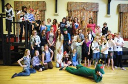 The Cast of Peter Pan