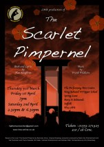The Scarlet Pimpernel - Leaflet Designed by Jai Kobayaashi Gomer © 2016