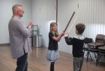 Sword Fighting Practise / Morning Rats @ LMA - Sword Fighting - Photography © Gillie Robson