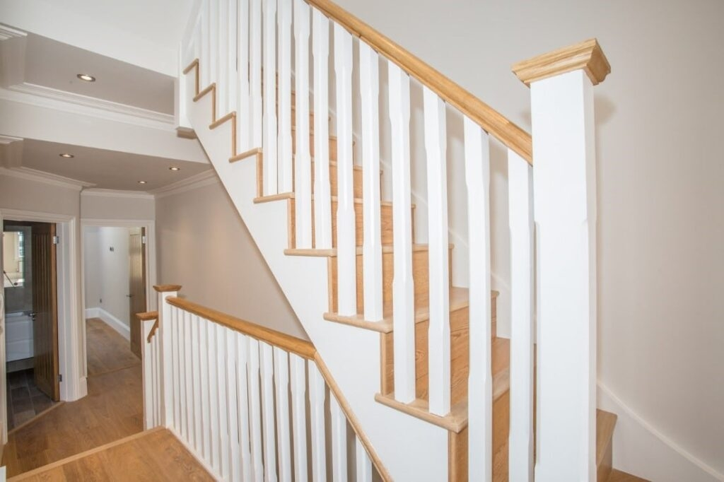 Loft Conversion Staircases Which Is Right For You Lmb Lofts | Converting Spiral Staircase To Straight | Stair Case | Building Regulations | Handrail | House | Attic Stairs