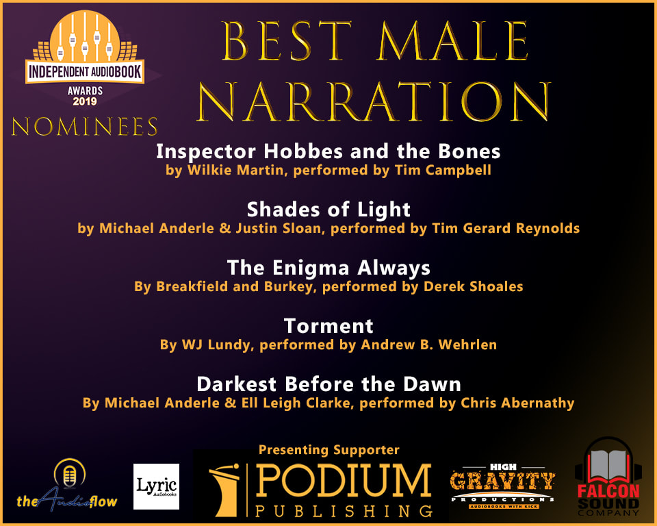 Male Narration Audie Nom