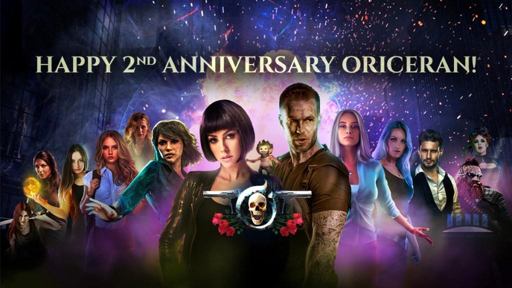Oriceran 2nd Anniversary banner