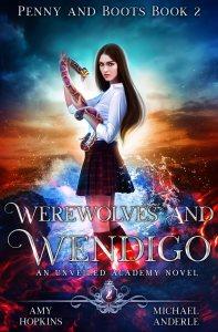 werewolves and wendigo ebook cover