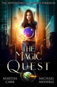 Magic Quest ebook cover