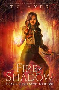 Fire and Shadow ebook cover