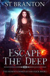 Escape the deep ebook cover