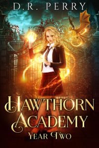 Hawthorne Academy year 2 ebook cover