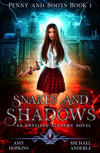 Snakes and Shadows ebook cover