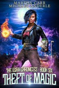 Theft of Magic ebook cover