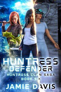 huntress defender e-book cover