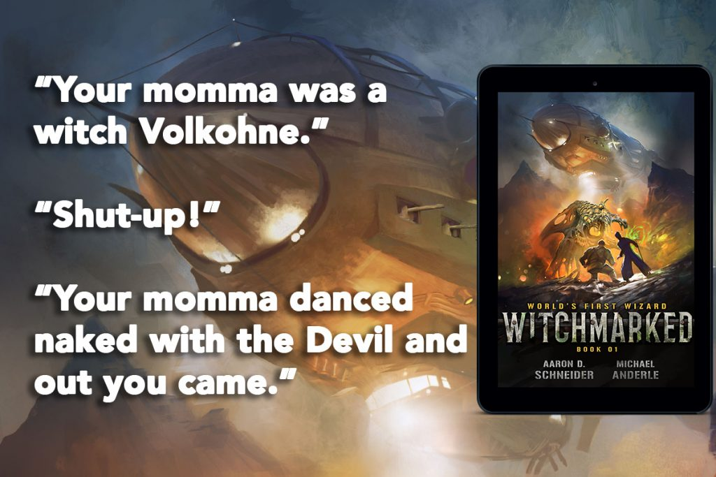 Witchmarked Quote Banner