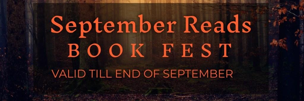 September book fest banner
