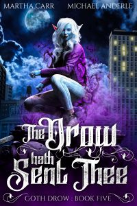 The Drow Hath Sent Thee e-book cover