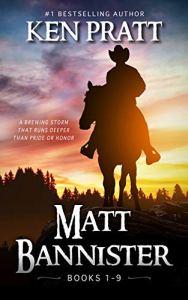 Matt bannister books 1-9 e-book cover