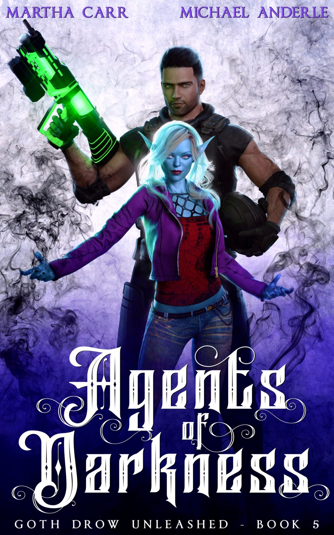 Agents of darkness e-book cover