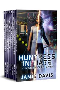 HUNTRESS CLAN SAGA E-BOOK COVER