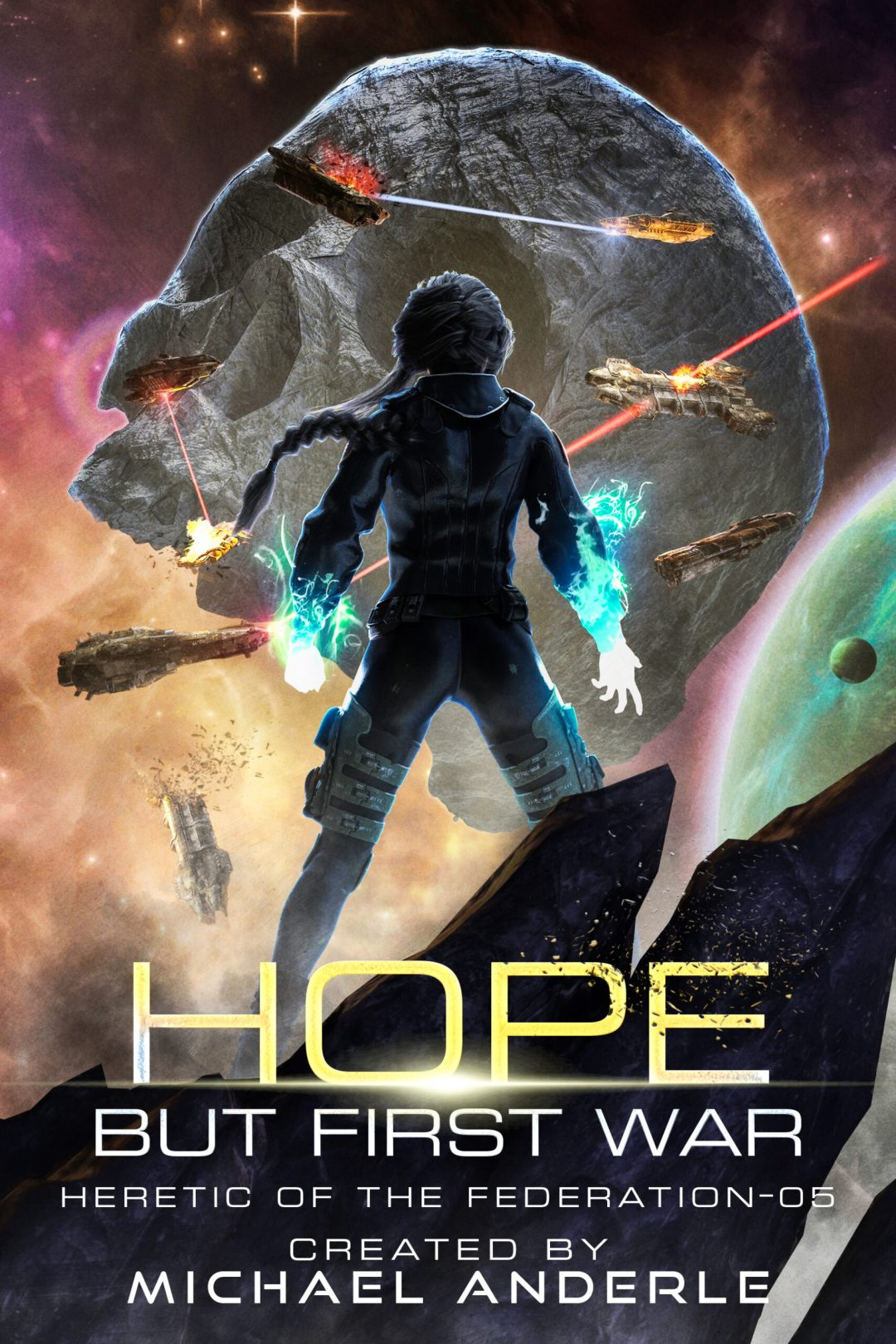 Hope but First War e-book cover