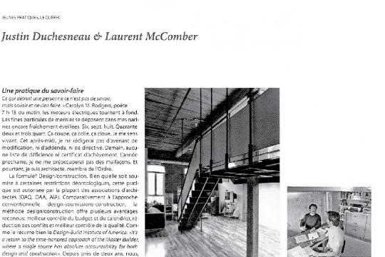 pratique architecture know-how