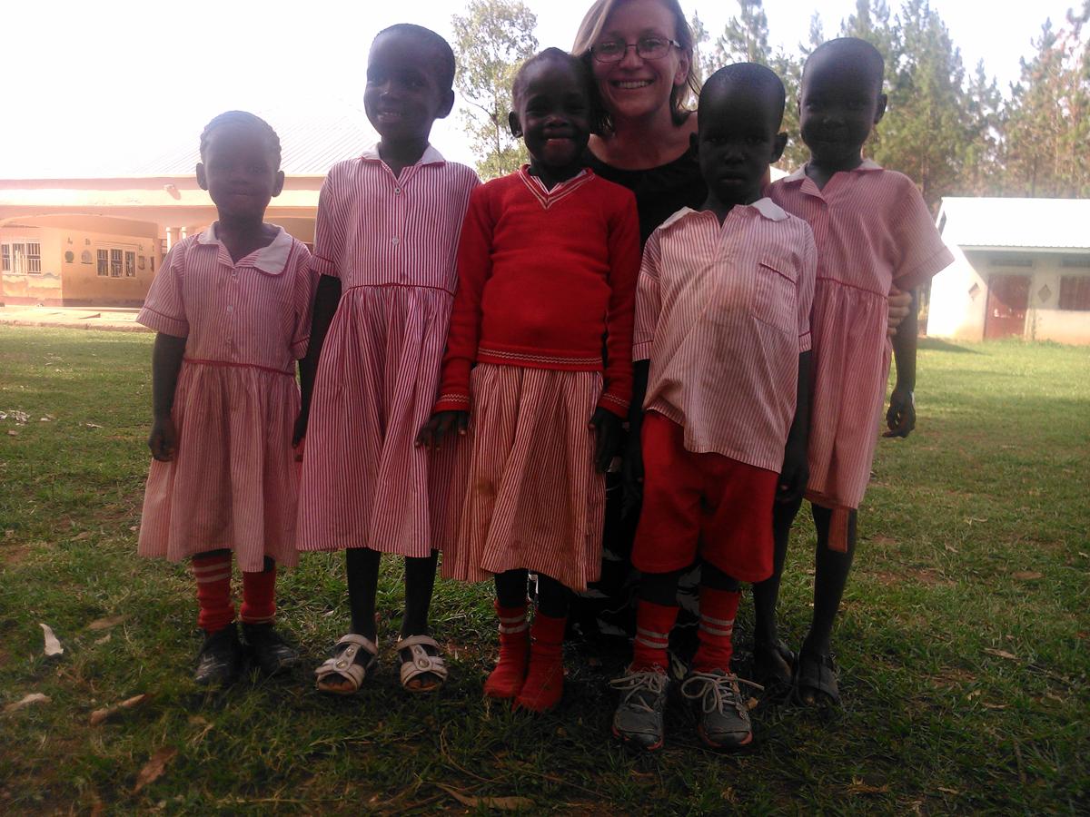Misionera en Uganda