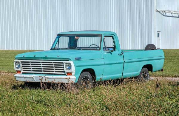 1967 Ford F100 Restoration Parts - Year of Clean Water