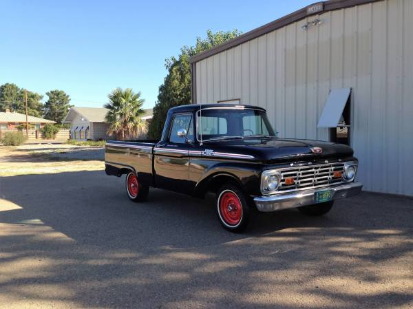 1964 Ford F100 Restoration Parts - Year of Clean Water