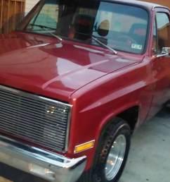 1981 chevy truck [ 2560 x 1440 Pixel ]