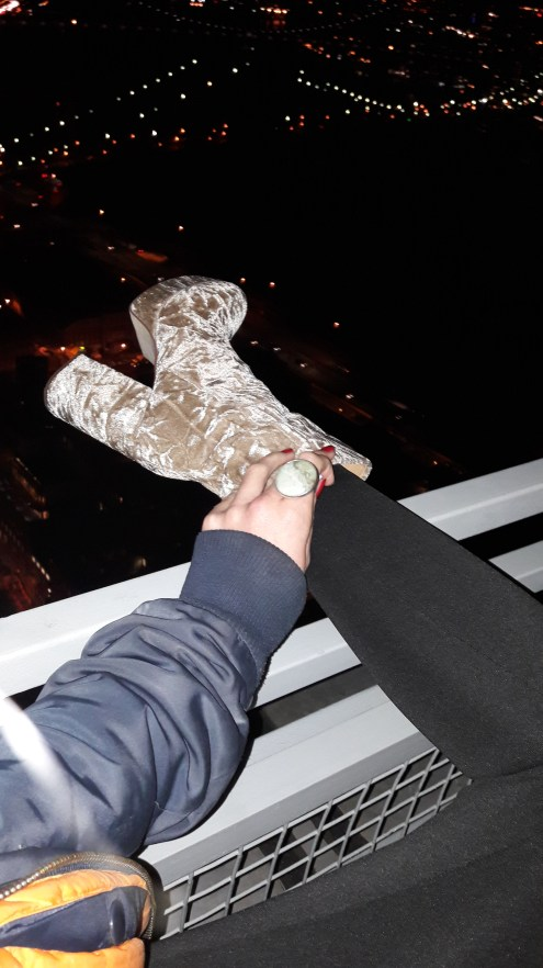 BOOTS ON ROOF