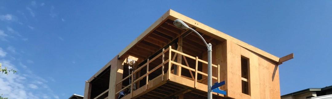 home under construction - LMD Architecture Studio