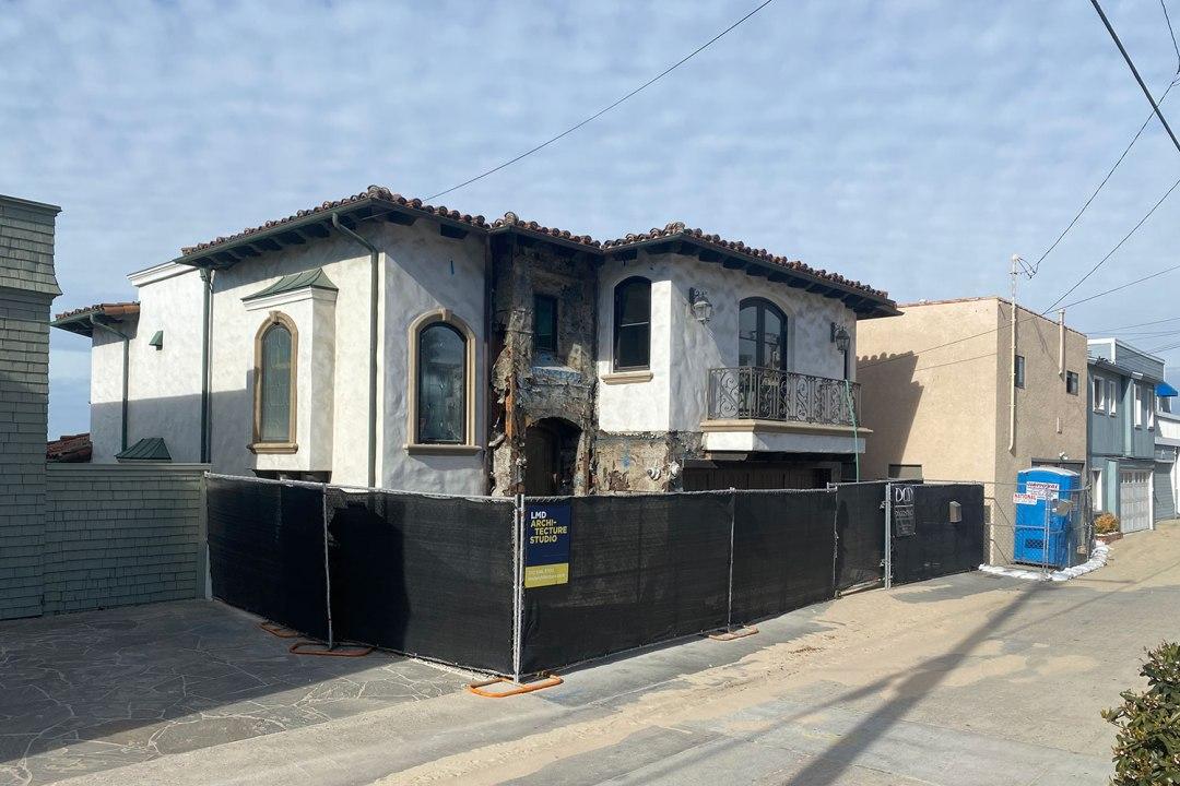 Hermosa Ave ⋅ Hermosa Beach ⋅ Under Renovation - LMD Architecture Studio